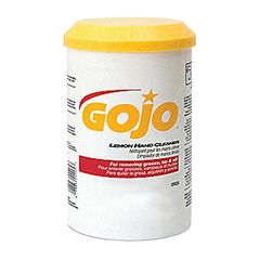 C&R Manufacturing GOJO Lemon Hand Cleaner - 18 Oz.