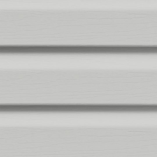 "CertainTeed Vinyl Building Products Encore™ Double 4-1/2"" Dutchlap Vinyl Siding - Woodgrain Finish Sterling Grey"