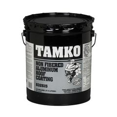 TAMKO Non-Fibered Aluminum Roof Coating - 5 Gallon Pail