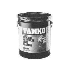 TAMKO Fibered Aluminum Roof Coating - 5 Gallon Pail