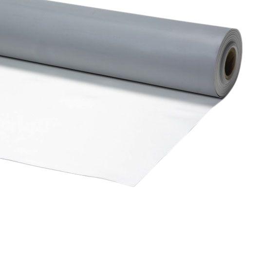 "Johns Manville 36"" x 50' PVC Detail Membrane Grey/Sandstone"