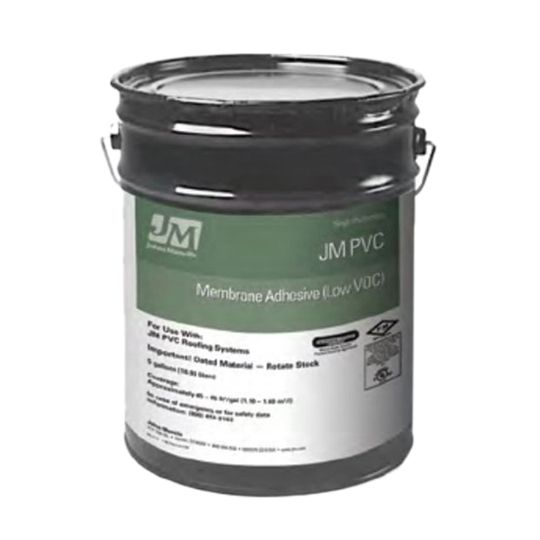 Johns Manville Low-VOC PVC Membrane Adhesive 5 Gallon Pail
