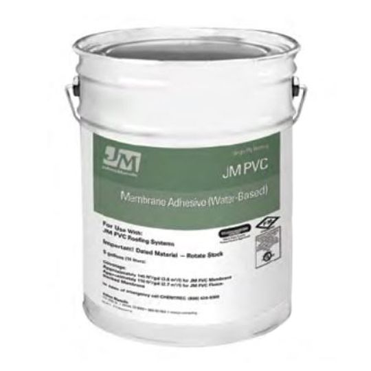 Johns Manville PVC Water-Based Membrane Adhesive 5 Gallon Pail