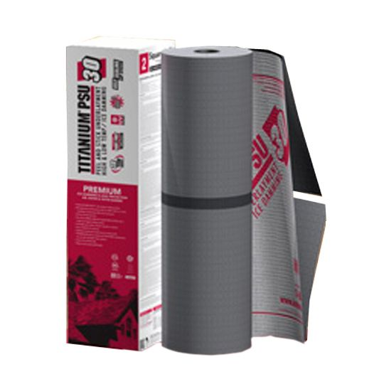 Owens Corning Titanium® PSU30 Peel & Stick Synthetic Roofing Underlayment - 2 SQ. Roll Grey