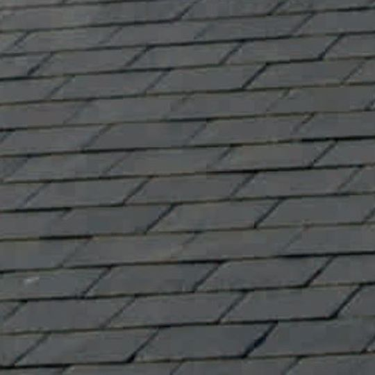 "SSQ International 6mm to 8mm x 16"" x 10"" Domiz Roofing Slate Seca Grey"