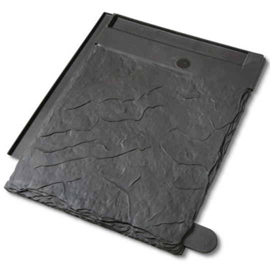 Davinci Roofscapes Multi-Width Slate Field Tile Smokey Grey