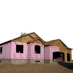 Owens Corning 10' x 150' Pinkwrap Housewrap Roll