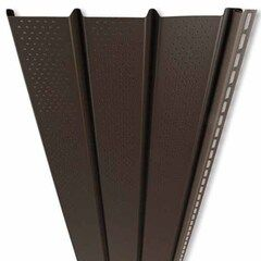 "Mastic Pro-Tech Plus Triple 4"" Ventilated Vinyl Soffit Panel"