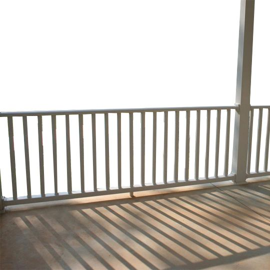 "Color Guard Railing Systems Classic Straight Rail 36""X6' Clay"
