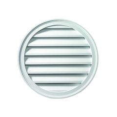 "Fypon Molded Millwork 22"" Decorative Round Louver"