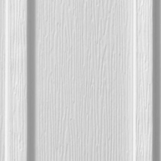 """Edco Products 12"""" Steel-Kore Vertical Board & Batten Steel Siding - PVC Finish Driftwood Grey"""