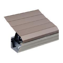 "Quality Edge .024"" x 13-1/2"" x 61"" TruGuard Aluminum Gutter Protection..."