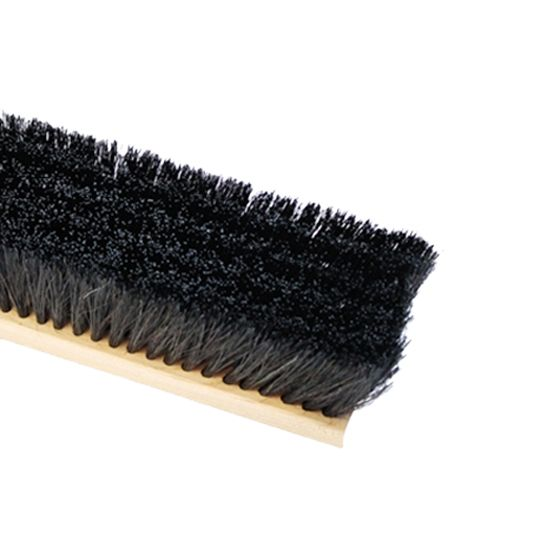 """The Brush Man 18"""" Floor Sweep with Horsehair & Synthetic Fill"""
