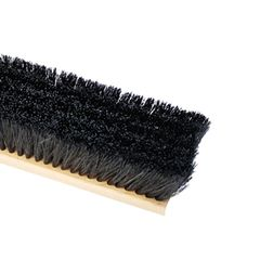 "The Brush Man 18"" Floor Sweep with Horsehair & Synthetic Fill"