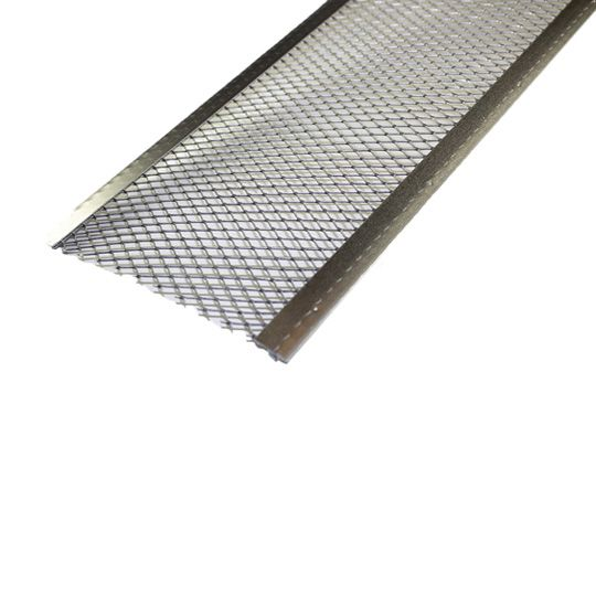 "Spectra Metal Sales 6"" Gutter Guard Aluminum Drop-In Cover"
