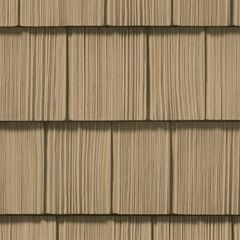 "CertainTeed Vinyl Building Products Northwoods® Single 7"" Straight..."