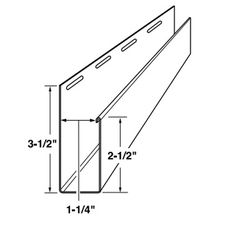 "Mastic 2-1/2"" x 1-1/4"" Wide Window Casing Trim"