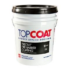 GAF TOPCOAT® FireOut™ Fire Barrier Coating