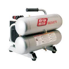 Grip-Rite 4.3 Gallon 2.5 HP Twin Stack Compressor