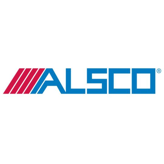 "Alsco Metals SMLS .032"" 6K Gutter - Sold per Lineal Foot Hickory Oak"