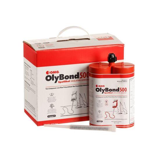 GAF OlyBond500® Spot Shot Insulation Adhesive - Dual Tube Set Box of 4 Sets