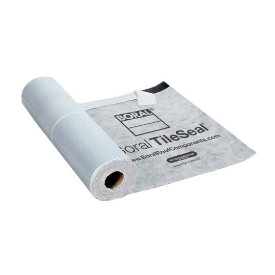 Boral 3' x 72' TileSeal® HT Modified Asphalt Roofing Underlayment - 2 SQ. Roll White (Color Coat)
