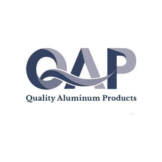 "Quality Aluminum Products .019"" x 8"" Horizontal Smooth Aluminum Siding - Sold Individually White"