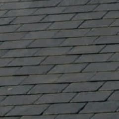 "SSQ International 18"" x 12"" Domiz Seca Grey Roofing Slate"