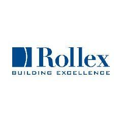 """Rollex 4"""" Double Steel Woodgrain Finish"""
