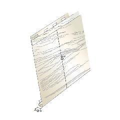 "Quality Aluminum Products 8"" Horizontal Deluxe Woodgrain Panel"