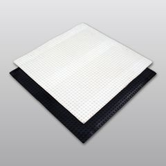 Carlisle Syntec Sure-White® EPDM Pressure-Sensitive Molded Walkway Pad
