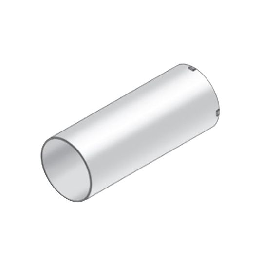 """Royal Building Products 4"""" x 10"""" Aluminum Tube"""