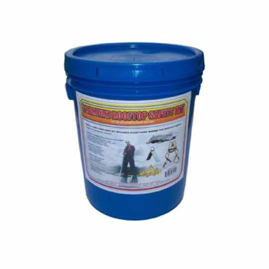 C&R Manufacturing Premium Safety Kit in a Bucket Blue