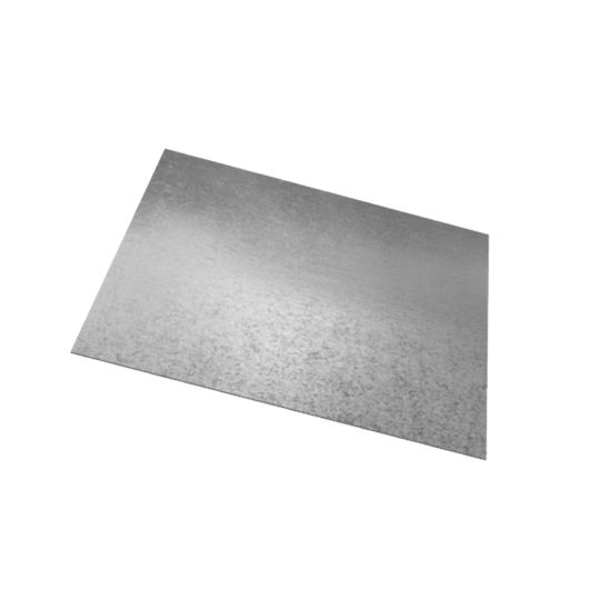 Majestic Steel Service 22 Gauge x 4' x 10' G90 Galvanized Steel Sheet