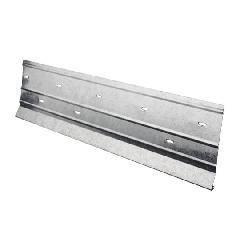 "Quality Edge .019"" x 3"" x 10' Aluminum Starter Strip"
