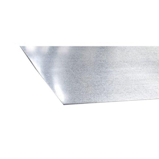 """Berridge Manufacturing 24 Gauge 48"""" x 10' Steel Sheet Shasta White"""