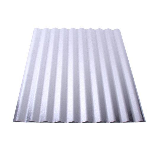Union Corrugating 26 Gauge Galvanized Corrugated Panels