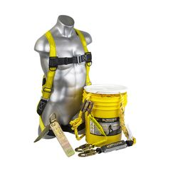 The Brush Man Safety Harness/Roofers Kit