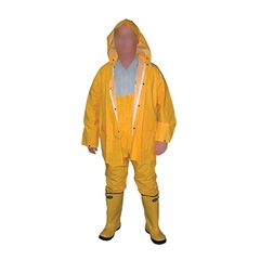 The Brush Man Rain Suit - Size XXL