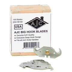 AJC Tools & Equipment Big Hook Blades - Box of 100