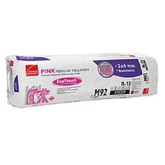 "Owens Corning 3-1/2"" x 15"" x 93"" R-13 M90 EcoTouch® PINK®..."