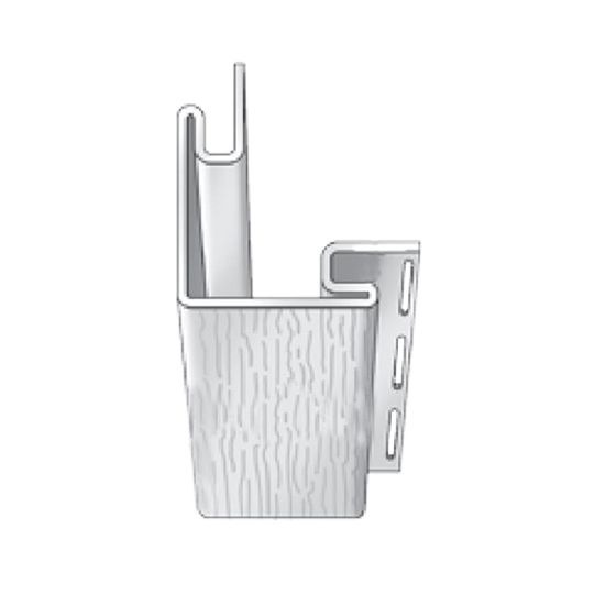 "Royal Building Products 3/4"" Universal Outside Corner Post - Woodgrain Finish Shamrock"