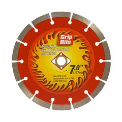"Grip-Rite 7"" Industrial Quality Segmented Blade"