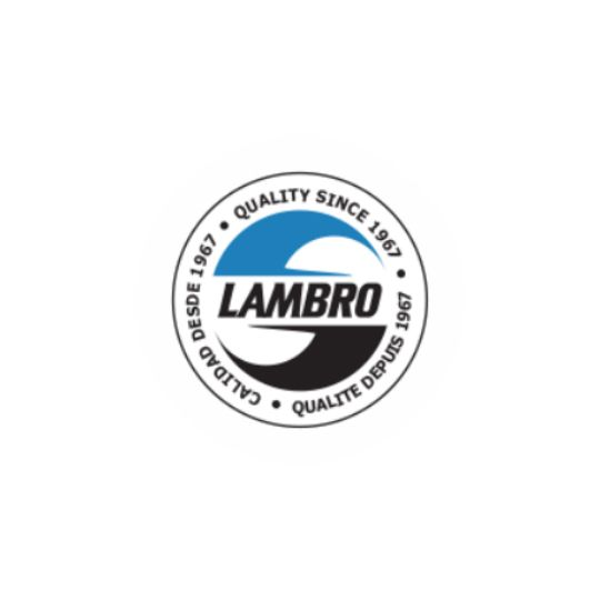 Lambro Industries Plastic Roof Vent with Damper & Screen Black