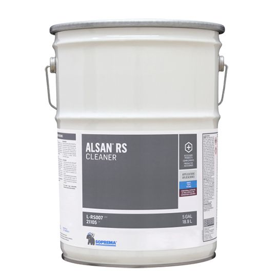 Soprema ALSAN® RS Cleaner 5 Gallon Pail