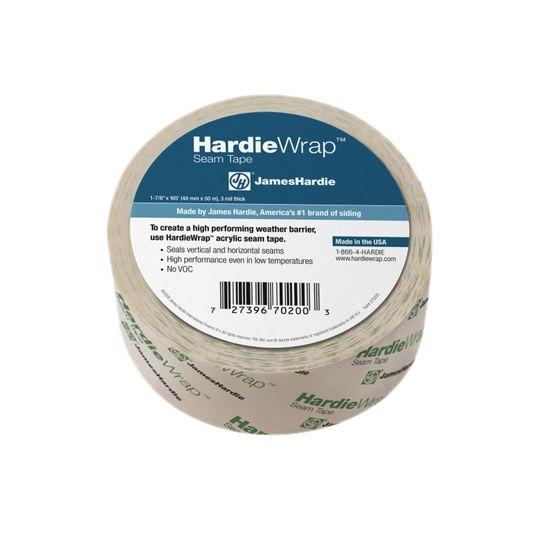 """James Hardie 3.2 mil 1-7/8"""" x 165' HardieWrap® Seam Tape"""