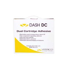 Versico DASH DC Dual Cartridge Adhesive - Carton of 4
