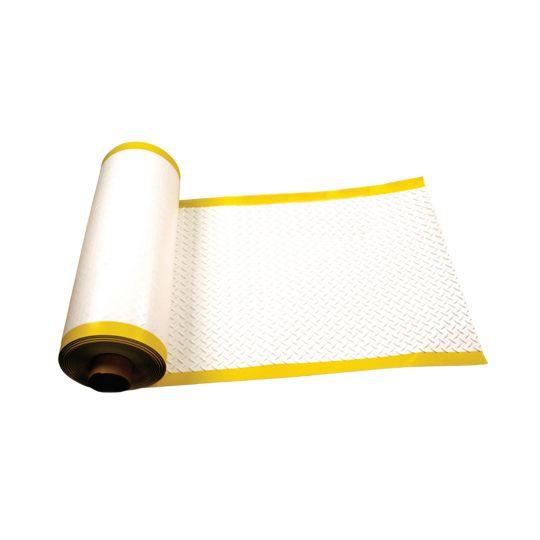 """Versico 34"""" x 60' VersiWeld® TPO Heat Weldable Walkway Roll Grey"""