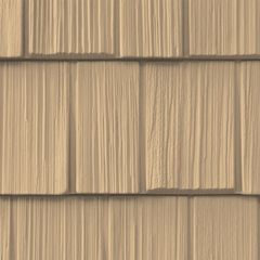 """CertainTeed Vinyl Building Products Northwoods® Single 9"""" Staggered..."""