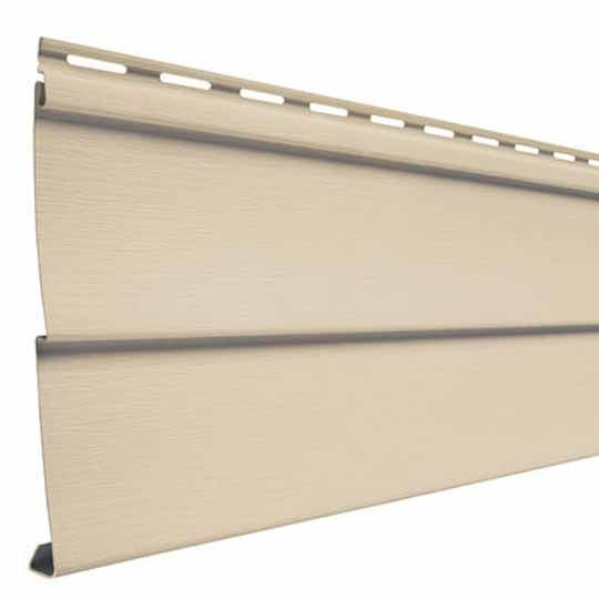 "Mastic Ovation Double 4"" Vinyl Siding - Woodgrain Finish Rugged Canyon"